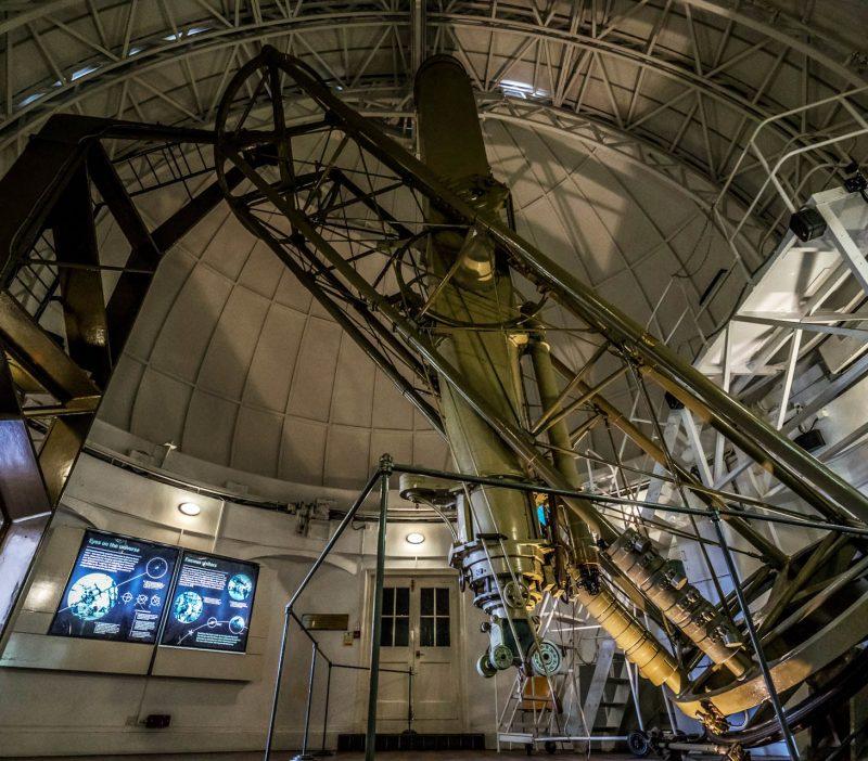 Королевская обсерватория изнутри