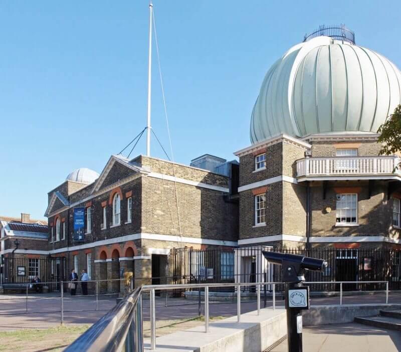 Нулевая меридиана через Королевскую обсерваторию