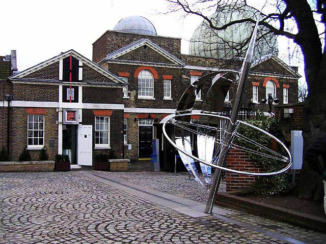 Нулевая меридиана в Гринвиче